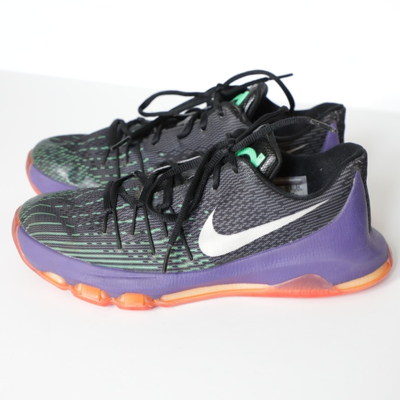 Hobart ambiente Roca  Nike Shoes | Nike Kd 8 Black Purple Green Red Joker Sneakers | Poshmark